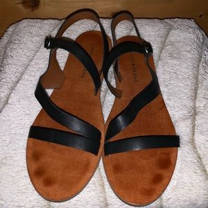 Lucky Brand 8.5 Leather Sandals